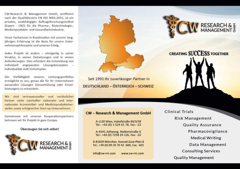 Folder Leistungen CW-R&M